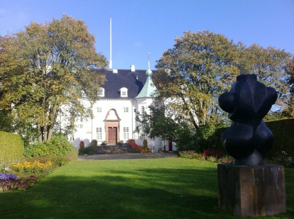Torso sculpture at Marselisborg Palace