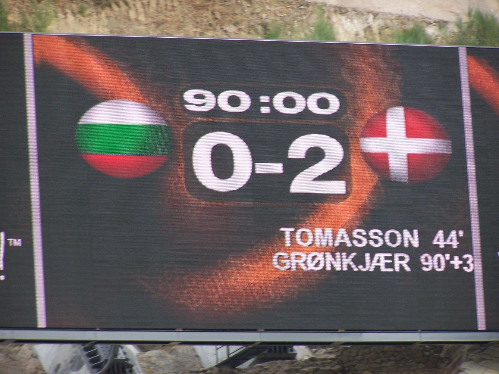 Sport & Traveling – Denmark beats Bulgaria 2-0