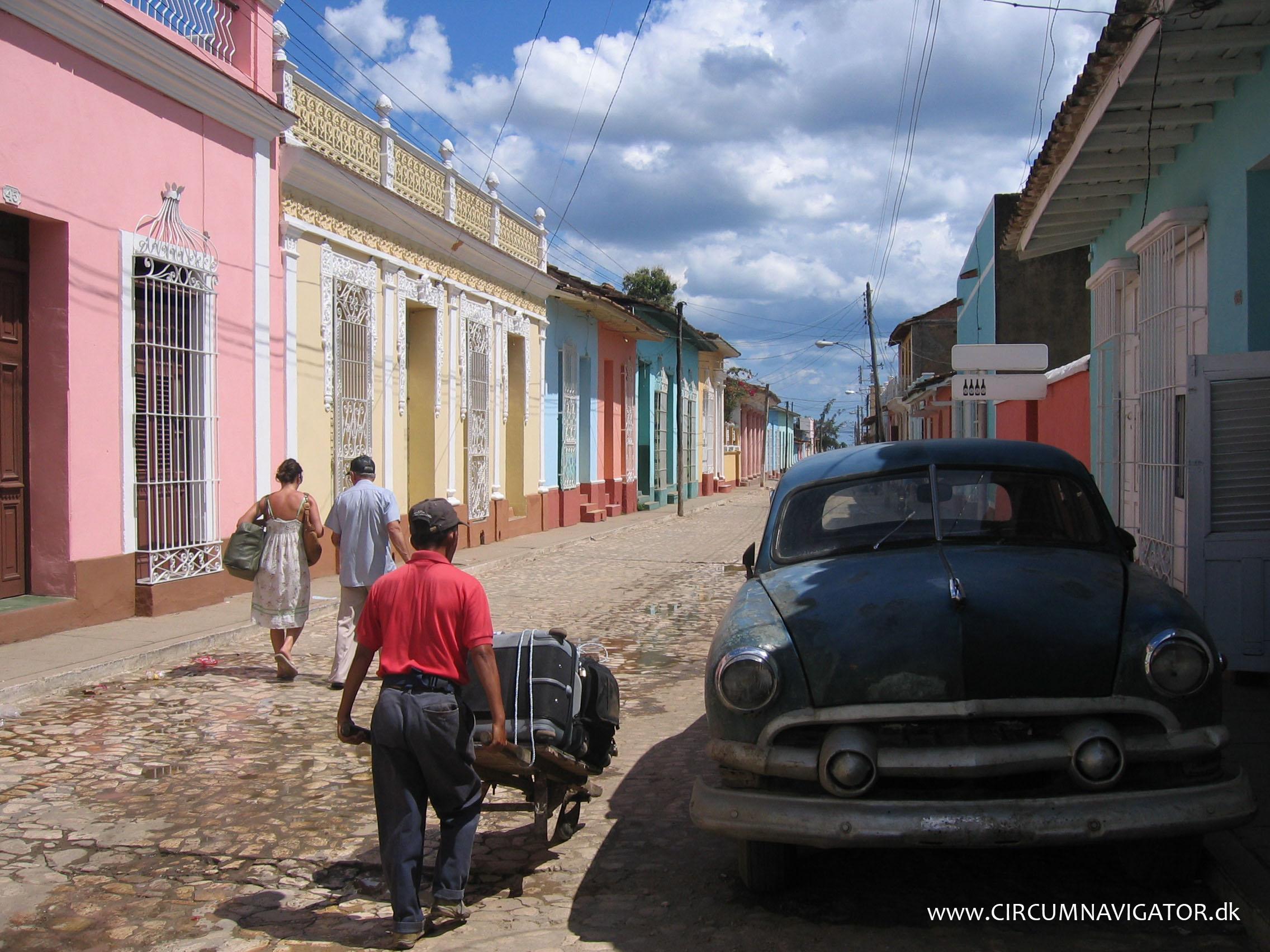 Free travelling Cuba