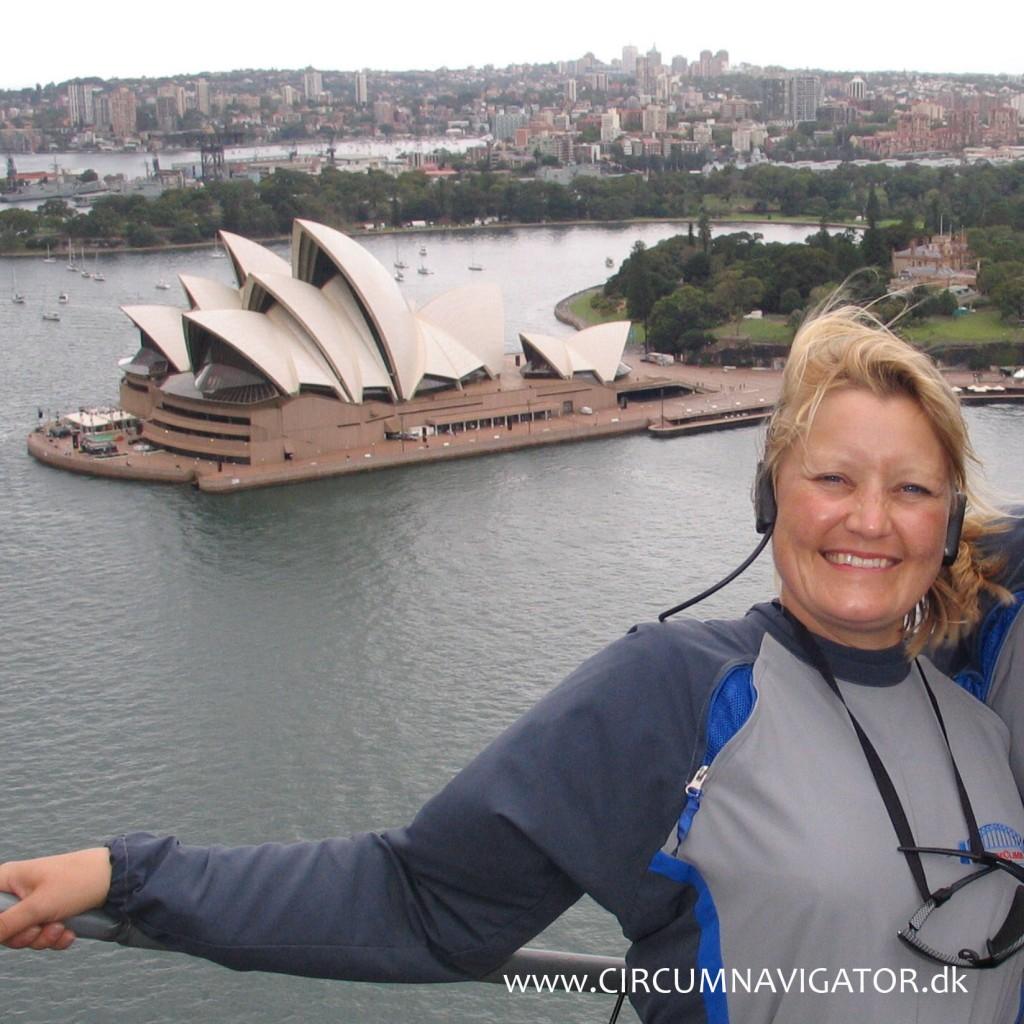 CIRCUMNAVIGATOR by Kirsten Hjorth Rasmussen at Sydney Harbour Bridge Climb