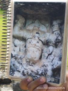 Mayan fertility God in Tulum