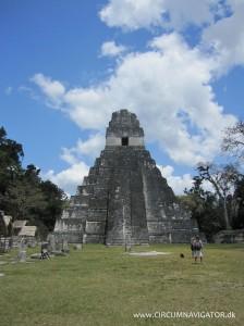 Templo 1 at Gran Plaza in Tikal