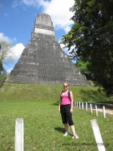 Templo 1 in Tikal