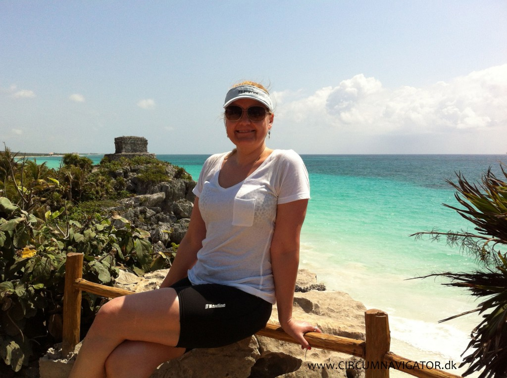 Tulum at the Caribbean ocean