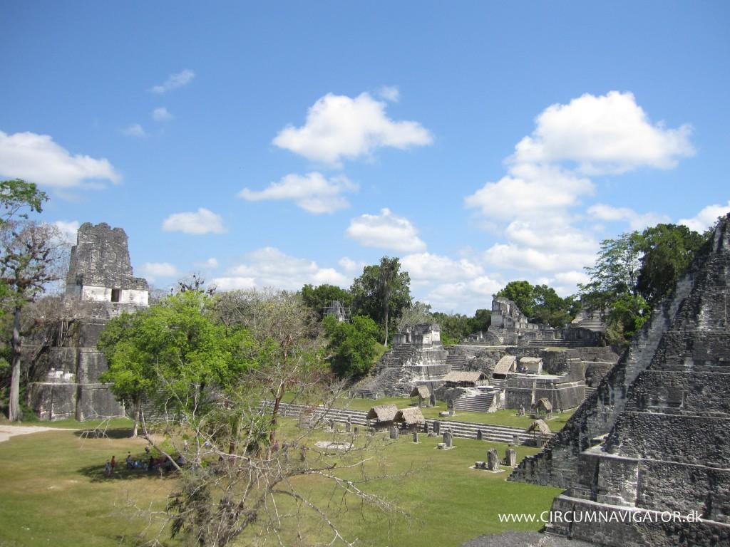 Gran Plaza at Tikal