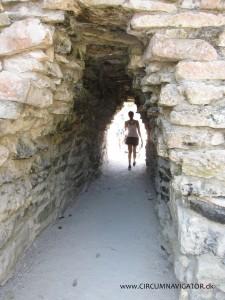 The walls around Tulum