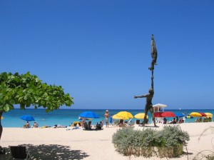 Doctors Cave beach in Montego Bay