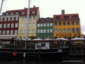 Nyhavn in Copenhagen from Nettobådene