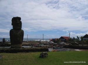 Harbour at Easter Island