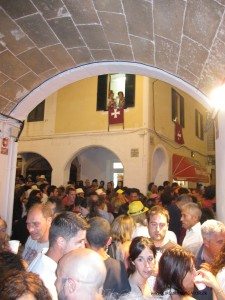 Ciutadella packed with people during Sant Joan