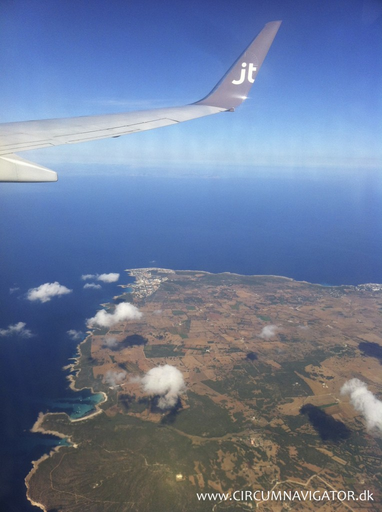 Menorca from the sky