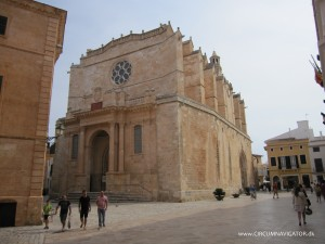 cathedral in Ciutadella