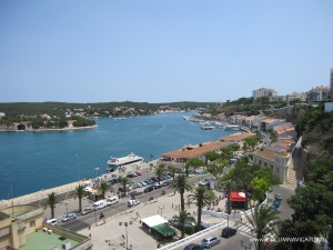 Harbour in Mahon Menorca