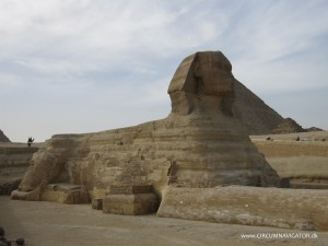 The Sphinx in Giza, Egypt