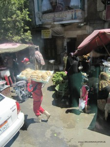 bread salesman in Cairo