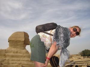 kiss my ass Sphinx