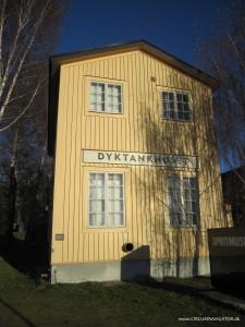 Dyktankhuset on Djurgården in Stockholm