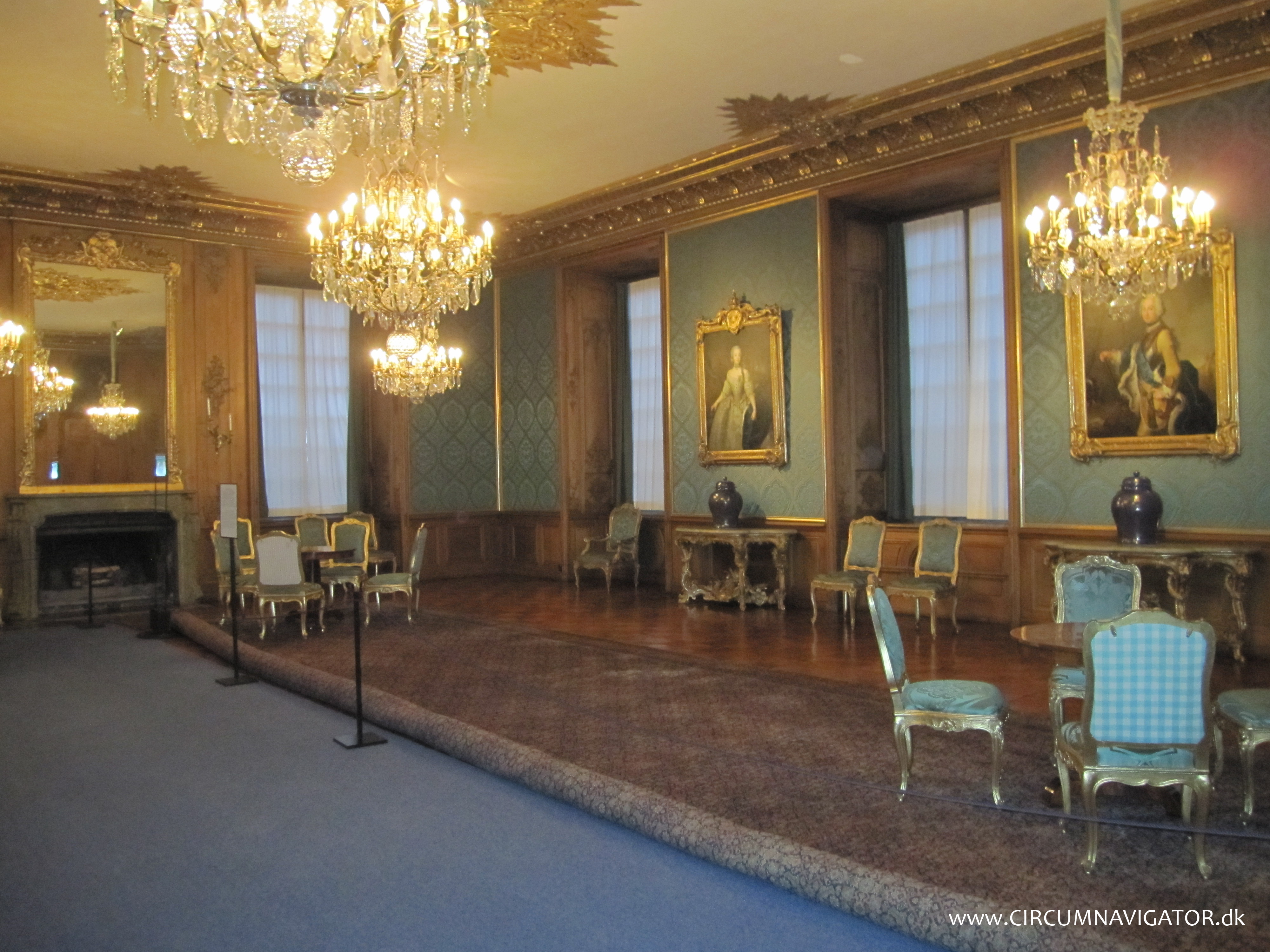 The royal palace stockholm chandeliers