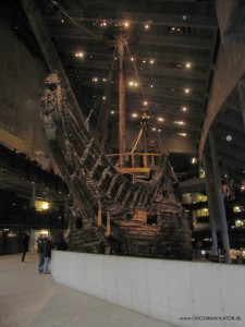 The Vasa Ship bow