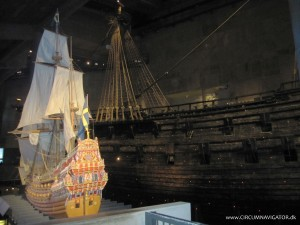 model of the Vasa ship