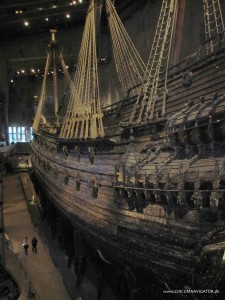 port side on the Vasa ship