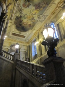 staircase in The Royal Palace Stockholm