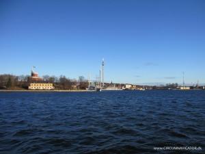 view to Kastellholmen and Djurgården in Stockholm