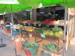 fruit shop Chiang Mai Land road