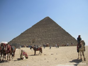 Pyramid of Cheops or Khufu