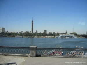 The Nile and the Cairo Tower