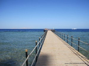jetty at Kiroseiz coral beach